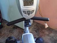 Exerpeutic Recumbant workout bike. LIKE NEW, EXCELLENT