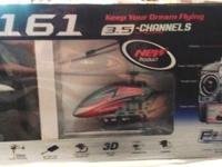 Like New DFD F161 Remote Control Helicopter $55 money