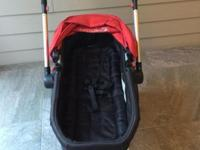 Like new First Years Wave strollers and car seat full