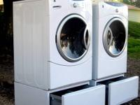 Here is your chance. GE High Efficiency Washer / Dryer