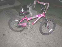 I am selling the bike we bought for my daughter which