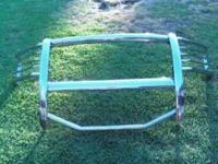 I have a stainless steel Grill Brush Guard for sale. It