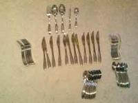 I am selling this 65 piece flatware set by Oneida. It
