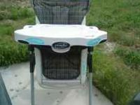 Like New Highchair and Diaper Genie. No rips on the