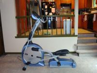 This elliptical was over $1200 dollars brand new bought