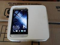up for sale like new att htc one m7 in box ,call or