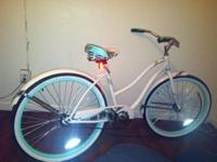 "This Huffy Cranbrook 26"" ladies' cruiser bike is the"
