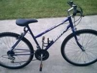 "Like new Huffy ""Rock Ridge"" 21-speed women's bike. Very"