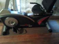 Selling like new iron man fitness bike. bike is in