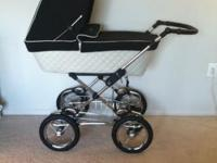LIKE NEW Luxury Silver Cross Travel System Originally