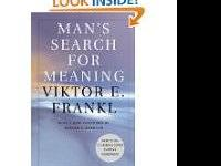 Man's Search For Meaning, paperback; author Viktor E.