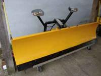 Meyer 7.5 ST snow plow-newer mount with only 2 spring
