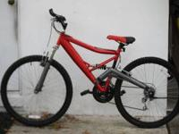 Big, heavy duty mountain bike in great condition and
