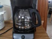I have a mr. Coffee coffee maker for sale. $20 or best