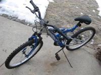 Nice, hardly ridden boys NEXT bicycle. 15 Speed.