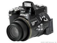 this is a mint nikon 5700 digital slr style camera.