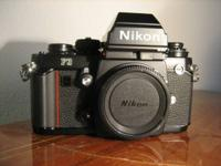 Nikon F3 HP SLR Film Camera. Cam and case are in NEW