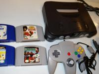 Like new Nintendo 64 system in excellent working