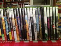 Like New!! Only $8 to $13 each for XBOX 360, PS2, & WII
