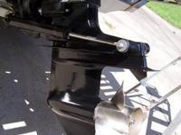 LIKE NEW OUTDRIVE ALPHA 1 V8 ONLY8 RUNNING HRS. UPPER