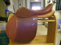 "17.5"", Medium Tree Amateur/Owner PESSOA Saddle, priced"