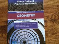 Never used, like new GEOMETRY: Prentice Hall