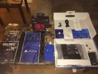 Up for sale is my PS4 and all add-ons. The console was