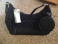 I have a brand new black  Nine West purse asking 20.00.