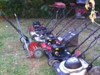 i have a lot of push mowers they all run and cut good