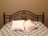 I am selling a Queen bed in like-new condition.  The