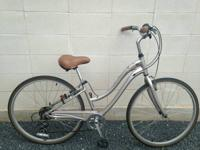 This mauve Schwinn Select Series bike is ideal for