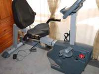 Like new SRB-1800 Schwinn Recumbent exercise bike.