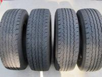 I have a like new matched set of four LT235/75R15 load