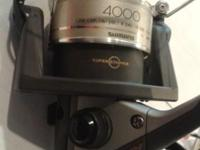 Like New Shimano AX 4000FA Spin Wheel for Fishing $25