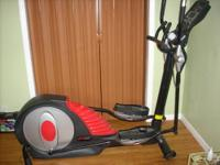 "This 2011 Elliptical features: 21"" Stride Length Rear"