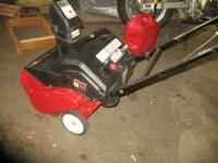 "Like New with very little use 5.5 hp 21"" MTD Yard"