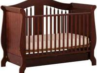 The Storkcraft Aspen Stages crib has it all - a strong