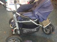 This Stroll-Air stroller is craftsmanship at its best.