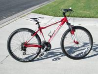 Like new fully serviced TREK 3500 21 speed.  Very light