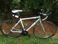 Selling trip alpha road bike. Like brand-new condition