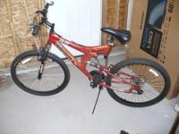 "2 Year Old Excellent Condition 26"" Used Mountain Bike"