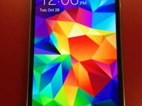 Like new-less than a month old black Galaxy s5 for
