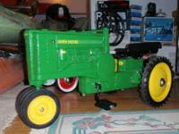 Perfect condition Vintage John Deere A metal pedal