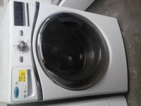 $400 LIKE NEW! WHIRLPOOL DUET FRONT LOAD STACKABLE
