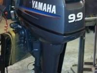 2004 Yamaha 9.9 outboard motor ... bought it brand-new