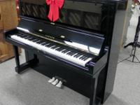 Beautiful, 100% reconditioned Yamaha U3. This upright