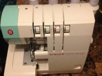 **********Like New 2-3-4 Thread Stylist Serger Sewing