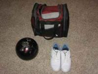 I have a seldom used, like new ladies bowling ball,