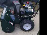 I have a Craftsman snowblower for sale, 29 in wide, 9