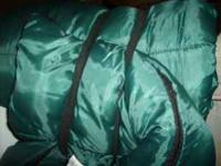 Only used once sleeping bag. Excellent condition. Not a